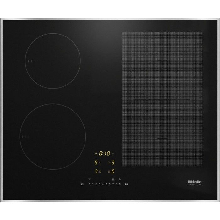 MIELE KM7464 FR Induction hob with onset controls with PowerFlex cooking area